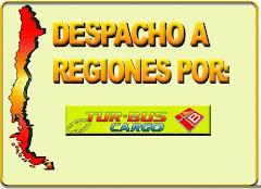 Envios a Regiones via Turbus