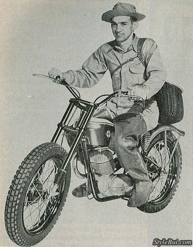 Xe cổ Harley Davidson Ranger 1962 165cc