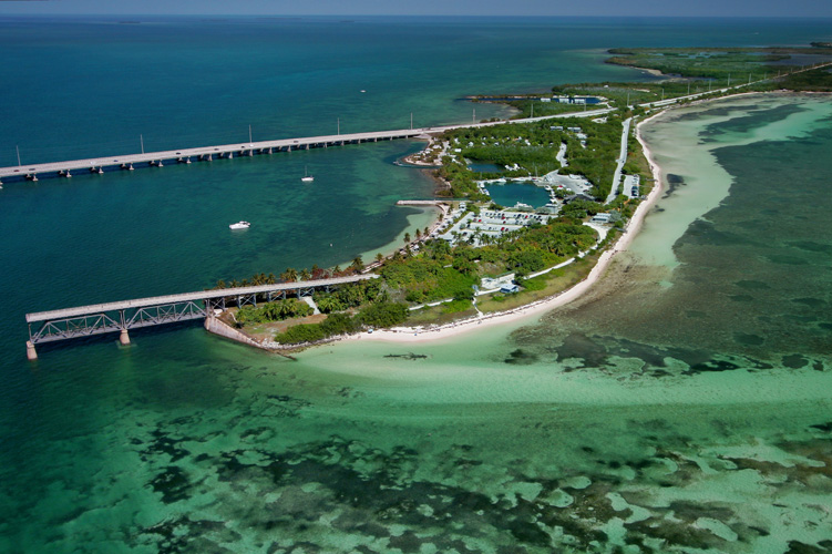 Topless - Review of Coco Plum Beach, Marathon, FL