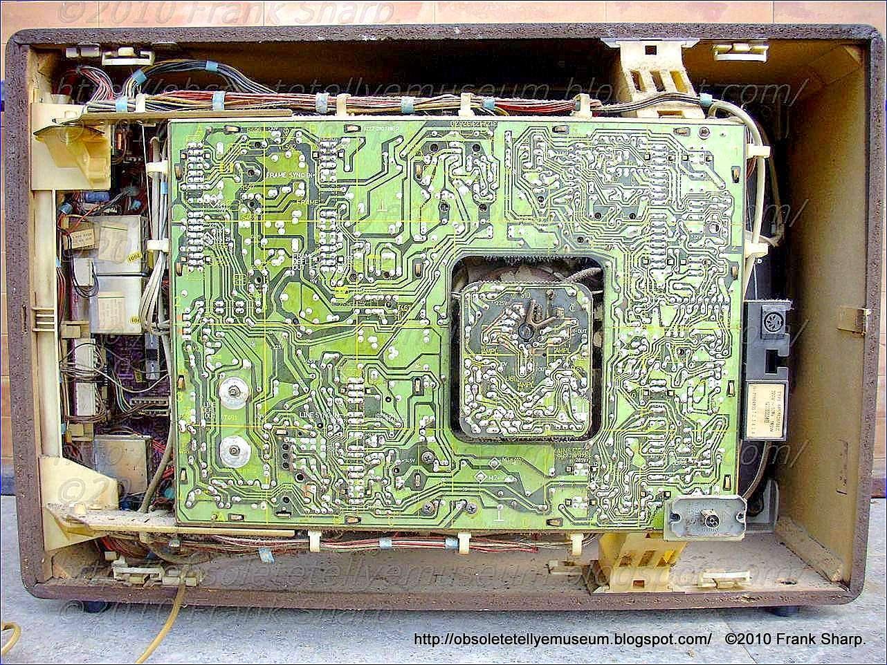 Obsolete Technology Tellye !: PHONOLA 66K4628 /88Z CHASSIS K12 (20AX ...