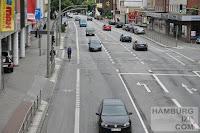 Billstedter Hauptstraße - Radfahrstreifen