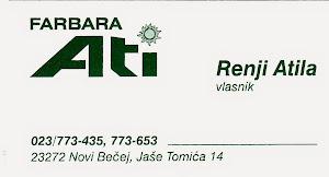 Farbara Ati - Novi Bečej