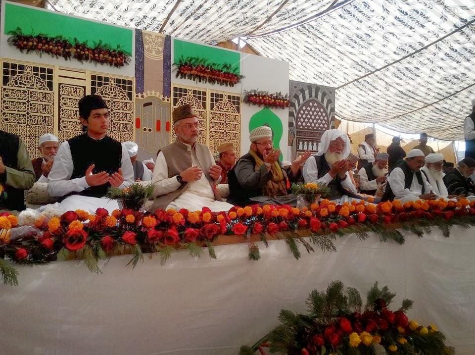 Halqah e Rahmaani's Annual Meelaad Shareef China Ground Kashmeer Road Karachi Pakistan allama kaukab noorani okarvi