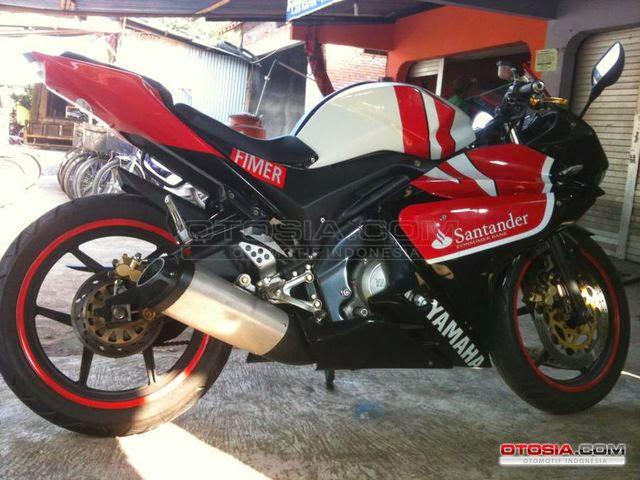 Gambar Yamaha Vixion Custom Modif Jadi YZF R125 Full Body