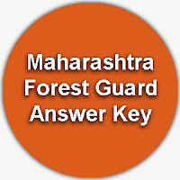 Maharashtra Forest Guard Answer Key