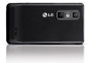 LG Optimus 3D Max rear view