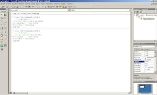 Scrittura codice sul progetto exe