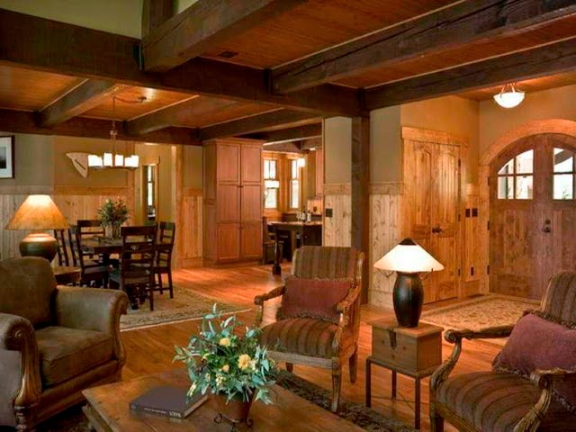 Rustic chic living room designs - Rustic chic living room ...