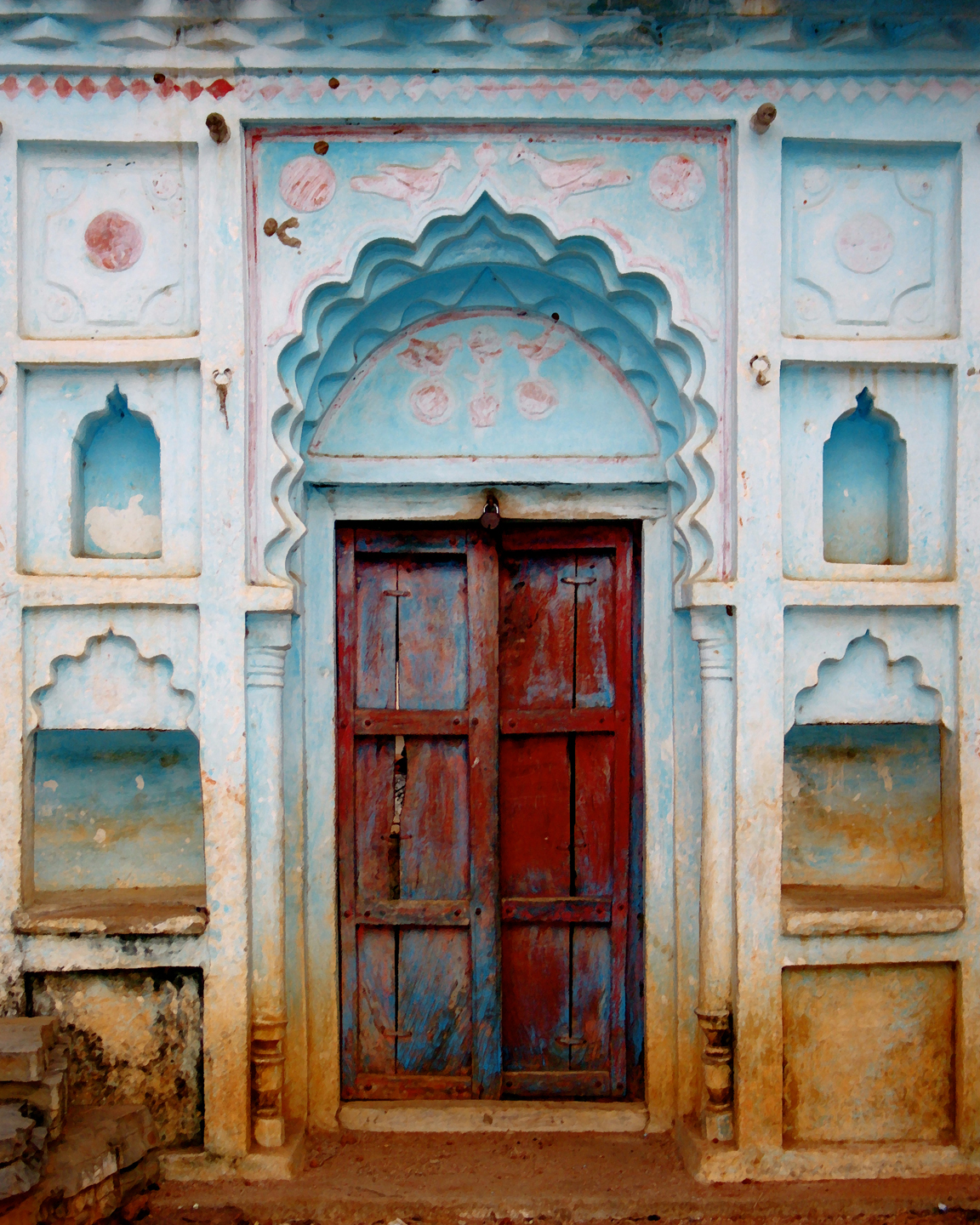 Travel Inspired Fine Art Photography  Doorways    They All Have Something To Tell You