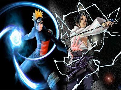 gambar naruto dan sasuke wallpaper
