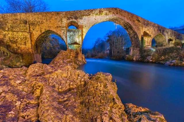 "The so-called ""Roman Bridge"" has a history, just like the rest of the town, which dates to the early Middle Ages."