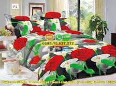 Harga V-bed Sprei Kembang #p1 No.3 Single Size 120×200 Jual