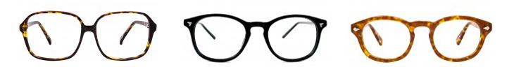 paire de lunettes contre fatigue oculaire