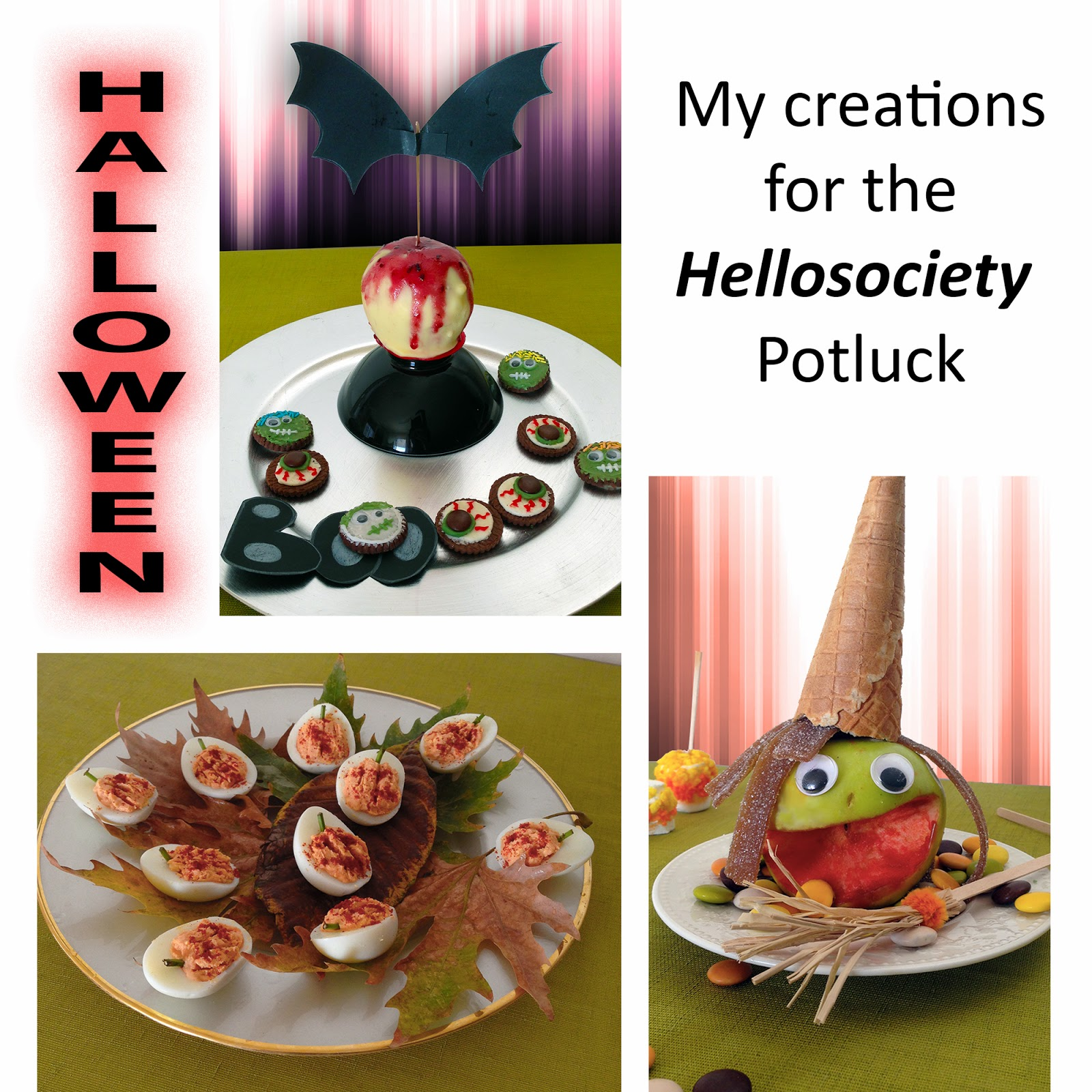My entries for the Hellosociety Halloween Potluck