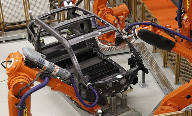 BMW i3 carbon structure