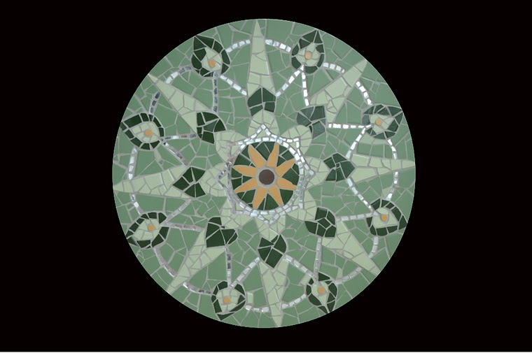 Mandala das Folhas