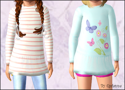 The Sims 3 clothes for girls