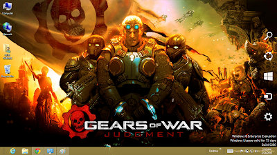 Download Gear Of War Judgment Theme For Windows 7