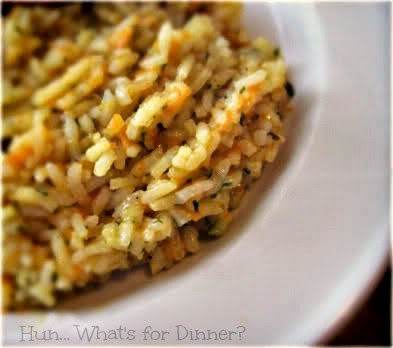 Hun... What's for Dinner?: Rice Pilaf- a quick and easy, budget friendly side to any meal!