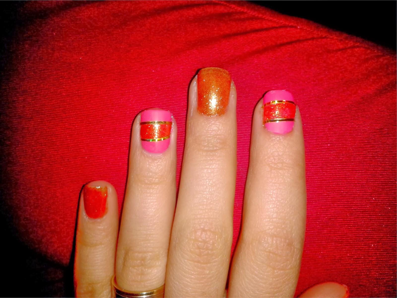 Gold diva nails taitzel beauty fashion and lifestyle - Diva nails and beauty ...