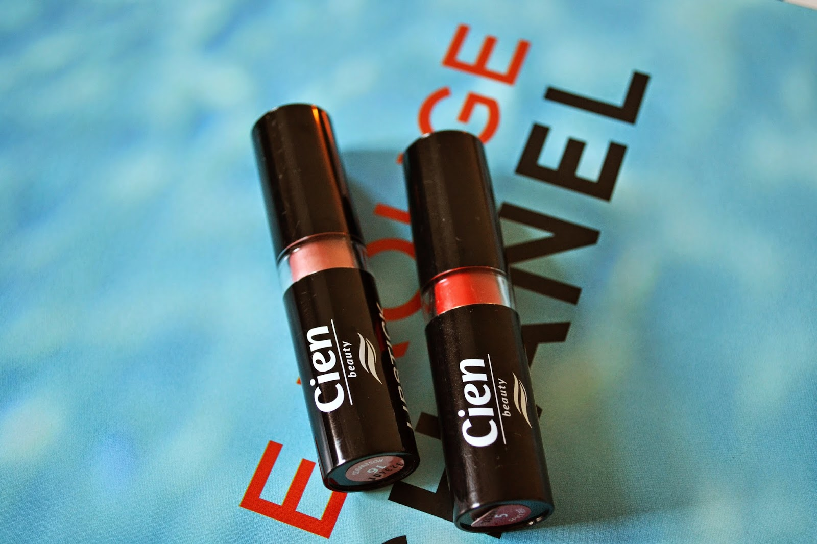 Cien Beauty Lipsticks in Rosewood & Spicy Red - Aspiring Londoner