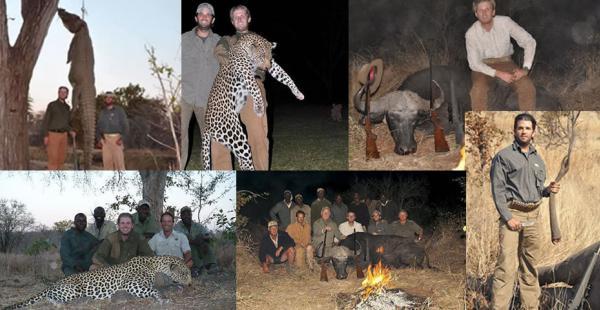 Resultado de imagen para trump jr cazando