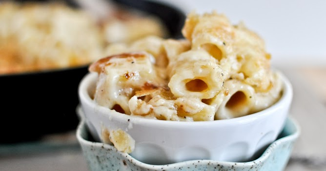 ... Monday: Four Cheese Baked Skillet Rigatoni - For the Joy of Life