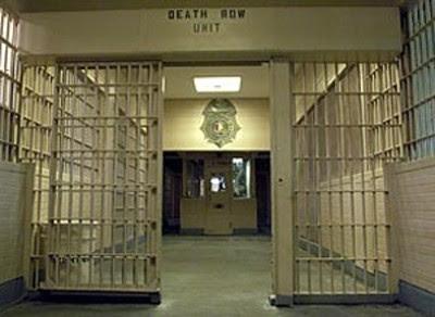 Death Row Unit, Holman Prison in Atmore, Alabama