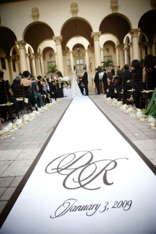 krysha 39 s shopping kapades wedding aisle runner