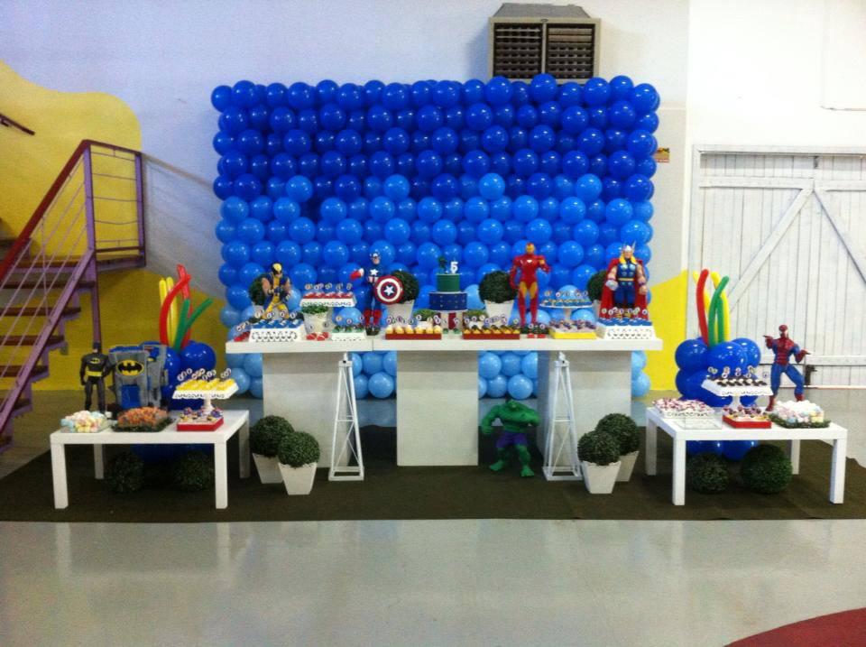 decoracao festa wolverine : decoracao festa wolverine:Decoração de Festa Infantil: Heróis