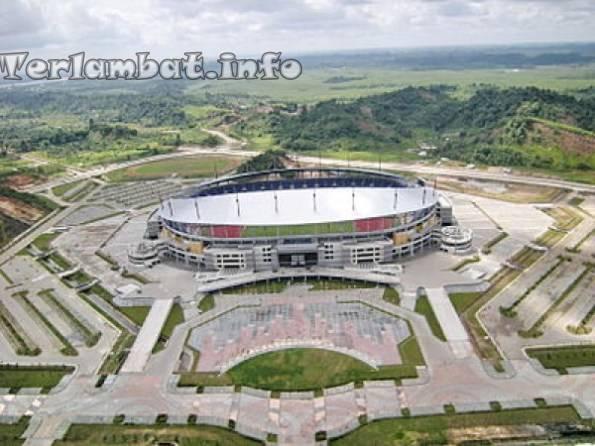 Stadion Sepak Bola Termegah di Indonesia : Stadion Palaran
