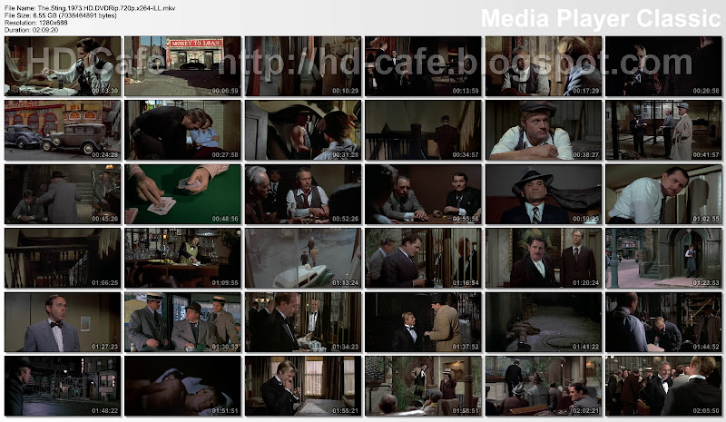 The Sting 1973 video thumbnails