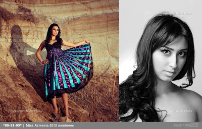 Miss Armenia Hayastan Միսս Հայաստան 2012 Knarik Sahakyan