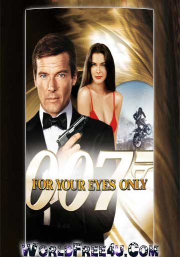 Poster Of For Your Eyes Only (1981) In Hindi English Dual Audio 300MB Compressed Small Size Pc Movie Free Download Only AT DOWNLOADINGZOO.COM
