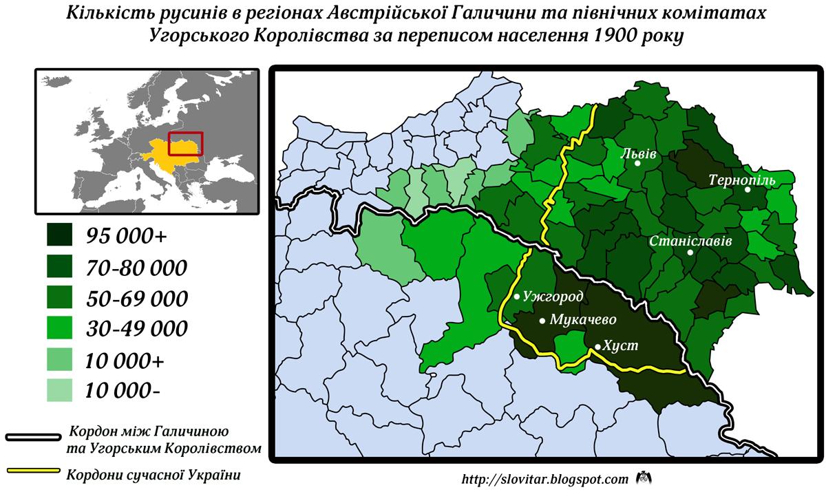 Политика российских, австро -венгерских и немецких властей на украинских