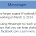 Facebook Messenger for Windows To Stop Working on March 3