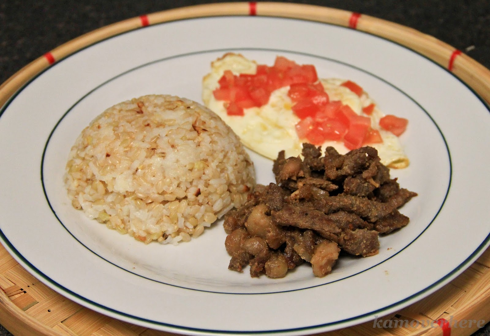 Tapsilog A La Kam Filipino Breakfast
