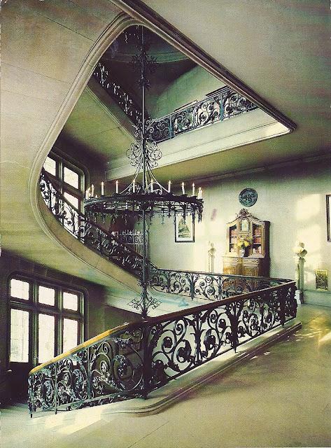 Pat S Postcard Postings Biltmore Estate Grand Staircase