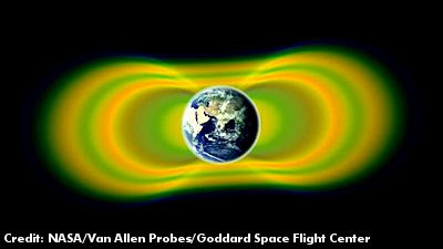 NASA Discovers Third Radiation Belt Around Earth
