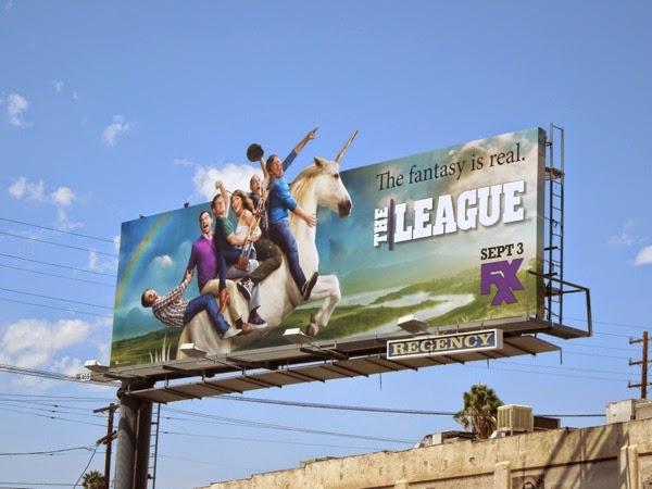 The League season 6 unicorn special billboard