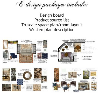 Cad interiors e design packages for Edesign plans