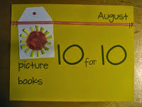 August 10 for 10 Picture Book Event