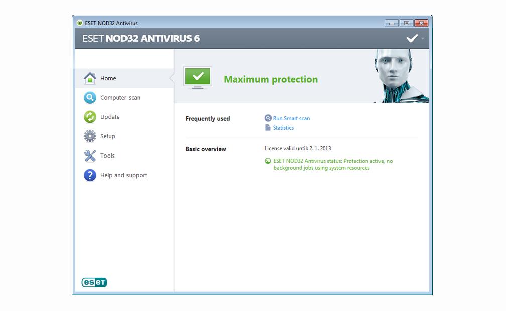ESET NOD32 AntiVirus 7.0.317.4