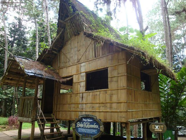 Not an ordinary Bahay Kubo, it is called Balai Kalimudan (gathering