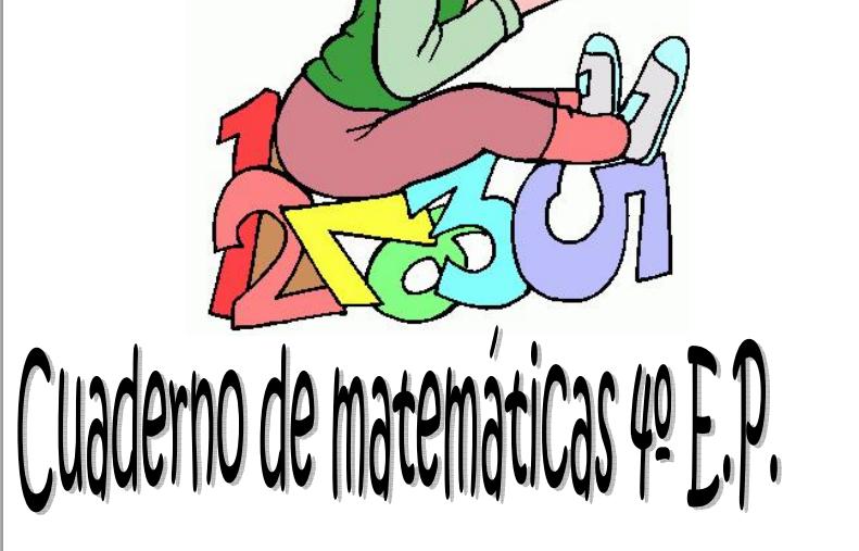 CUADERNO COMPRENSIÓN LECTORA 4º PRIMARIA