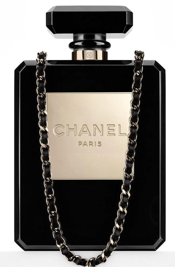 Chanel perfume purse