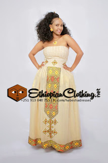 Traditional Ethiopian Wedding Dresses Traditional
