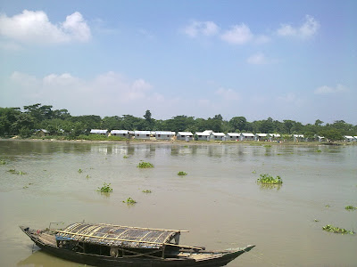 River in Bangladesh.