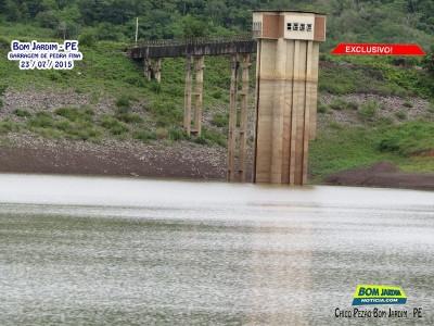 Video da Barragem de Pedra Fina - Dia 23.07.2015