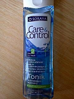 Soraya Care & Control.Tonik odświeżająco-łagodzący